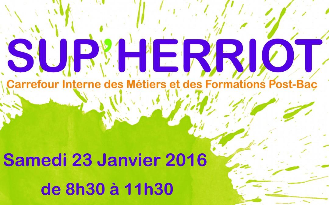 Sup Herriot – 23 Janvier 2016