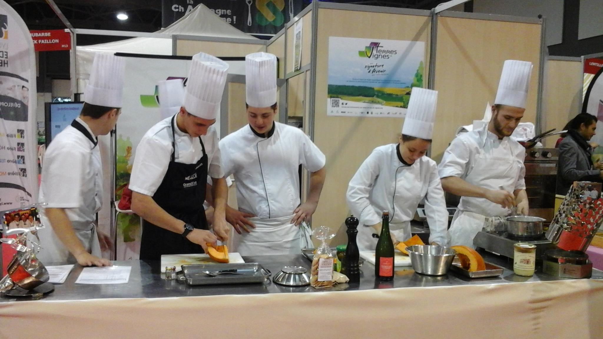 Salon de la gastronomie de troyes lyc e edouard herriot for Salon gastronomie troyes