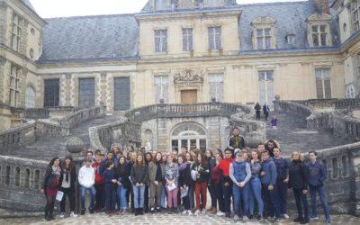 Sortie latinistes de 2nde à Fontainebleau et au Cyclop