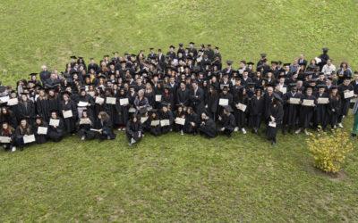 Cérémonie de remise de diplômes