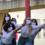 prestation scénique de l'enseignement art danse dans la cour principale